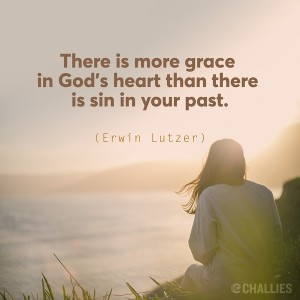 grace in God's heart